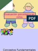 test de Rorschach para evaluación de  Niños