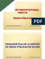 Ejecucion de obras por Administracion Directa