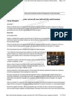HP - Stuxnet at Chevron