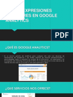 Uso de Expresiones Regulares en Google Analytics