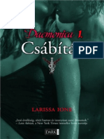 Larissa Ione - Daemonica 1. Csábítás