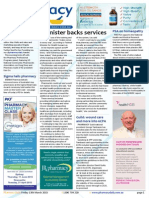 Pharmacy Daily for Fri 13 Mar 2015 - Minister backs pharmacy, wound care into 6CPA, POTY winner, authorities online, PCEHR, TGA recall & much more