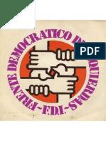 Himno del Frente Democrático de Izquierdas