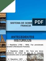 Sistema de Gobierno Francia