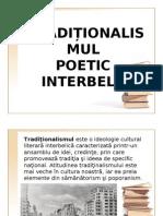 Traditionalismul Poetic Interbelic