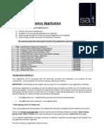 Application Form June 2014