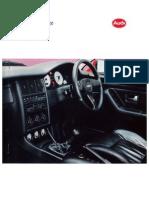 Audi Range Catalogue 1992 - UK