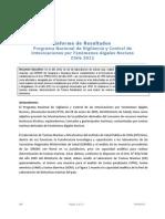 Informe Marea Roja 2012 Chile