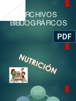 NUTRICION Y DOCUMENTAL