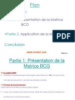 Presentation de Matrice BCG