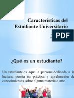 caracteristicas del estudiante universitario
