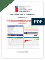1. Informe 2014 - Resultados en Gobernabilidad y gobernanza de las eps del peru