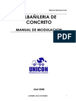 Albañileria Armada Unicon - Modulacion