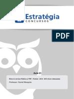 Aula Escrita 01 - 1 Ética e Moral. 2 Ética, Princípios e Valores. 3 Ética e Democracia- Exercício Da Cidadania. 4 Ética e Função Pública. (1)