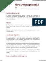 El Libro Para Principiantes en Node.js