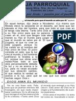 HOja Parroquial 1480 15 marzo 2015