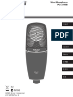 PG42-USB Vocal Microphone - Shure User Guide