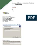 Aso Practica Integracion Debian en Un Dominio Windows