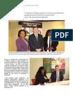 La Passerelle-I.D.É. et Seneca Collège signent un protocole d'entente