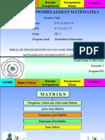 Tugas Media Pembelajaran - Matriks