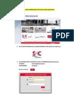 Manual Para Impresión de Ficha de Pago Bancaria