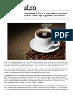 Otrava Automatele Cafea Bem Fapt Boli Pandesc Punem Fisa Aparat Cele Mai Periculoase Cafea Lapte Cappuccino Ciocolata Calda