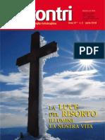 Rivista Incontri - Mese Di Aprile 2015