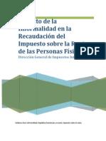 2013 Impacto Informalidad ISR Personas Físicas DGII