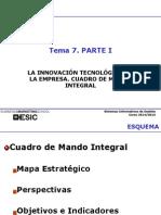 Tema 07 La Innovacion Tecnologica en La Empresa CMI 2014-2015