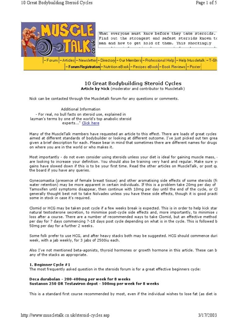 Nolvadex side effects bodybuilding forums
