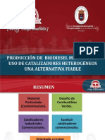 PRODUCCIÓN DE BIODIESEL MEDIANTE EL USO DE CATALIZADORES HETEROGÉOS UNA ALTERNATIVA FACTIBLE.pdf