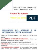 Implicaciones Del Derecho a La Informacion