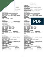 Ficha Avaliação Postural