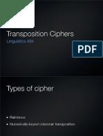 Transposition Slides
