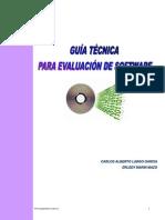 Guia Tecnicaa Para Evaluacion de Software