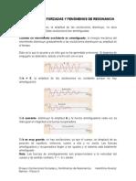 Oscilaciones Forzadas y Fenómenos de Resonancia