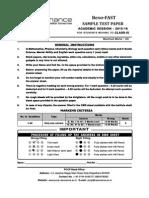 Class IX ResoFAST Sample Paper