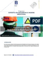 Experto en Seguridad e Higiene Industrial 2014