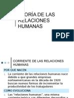 Enfoque Humanistico Relaciones-humanas