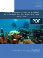 Report Kofiau Reef Health 2009-2011 FINAL ENG - TNC