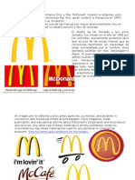 Evoluciín de la Imagen de McDonald's