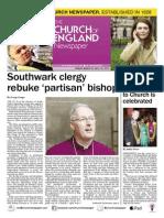 Church of England Newspaper 13March2015 Southwark Declaration