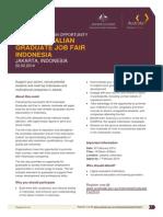 Graduate Fair Indonesia 2014 Event Brochure