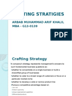 Crafting Strategies