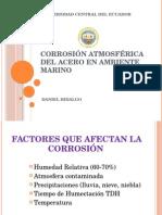 Corrosion Acero Ambientes Marinos