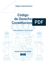 Código de Derecho Constitucional. España (BOE-042, Al 2014.07.14)