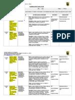 Planificación Diaria Junio, Matemática, Quinto Básico 2014, Paola Armijo
