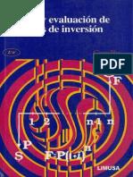 Analisis y Evaluacion de Proyectos de Inversion 2da Ed. - Coss Bu Raul