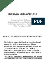 Budaya Organisasi - Edgar h.schein