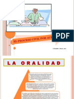 El Proceso Civil Por Audiencias Ul - 2015